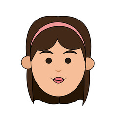 Young woman icon image vector