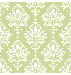 Vintage damask seamless pattern vector