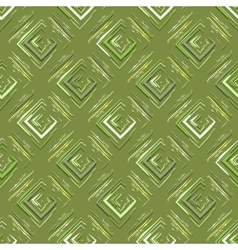 Grungy geometric pattern vector image