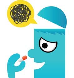 Medicine Man vector image