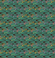 Winding colored lines vector