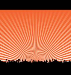 Concert background design vector