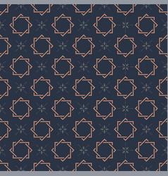 Monogram seamless pattern vector
