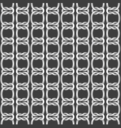 Seamless background from ropes vector