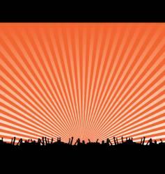 concert background design vector image