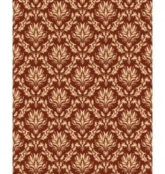damaskwallpaper pattern vector image