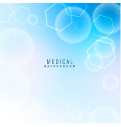 Medical health care background vector