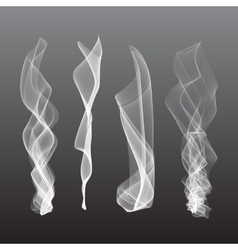 Smoke background  steam isgenerated liquidolated vector