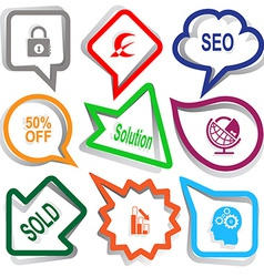 Closed lock monetary sign seo 50 off solution vector