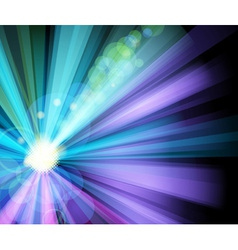 Ray light party banner vector