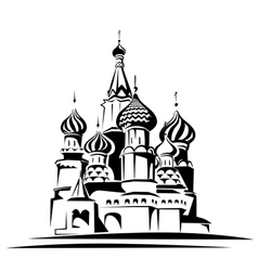 Saint basil cathedral vector