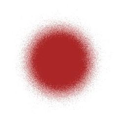 Circle distress red vector