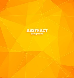 Abstract Triangular Background vector image vector image