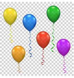 ballon for party birthday vector image