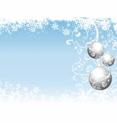 christmas abstract vector image vector image
