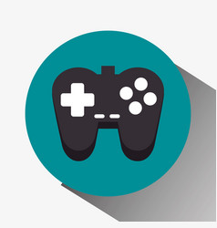 Control game isolated icon vector