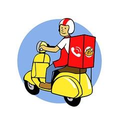 Food Delivery Go vector image vector image