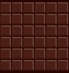 seamless chocolate bar pattern background vector image