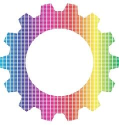 Spectrum gear vector