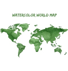 Watercolor ecology infographic background vector