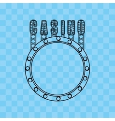 Casino game icon design vector