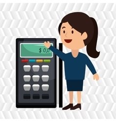 Voucher machine isolated icon design vector