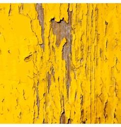 Distress yellow paint vector