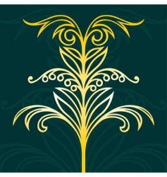 elegant design elements vector image vector image