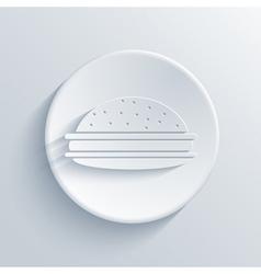 light circle icon Eps10 vector image