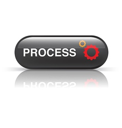 PROCESS icon vector image vector image