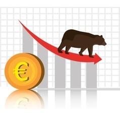 Stock market and exchange vector image vector image