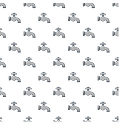 Water tap pattern seamless vector