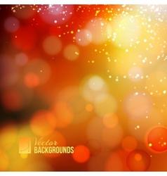 Yellow shine background vector