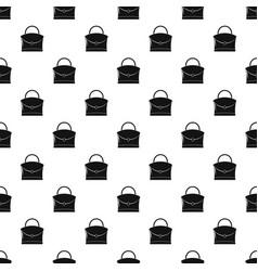 little woman bag pattern vector image