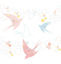 Swallow pattern vector