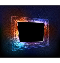 creative frame vector image
