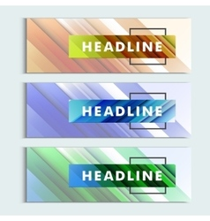 Abstract color lines to design covers and banners vector