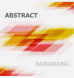 abstract red and yellow business straight line vector image