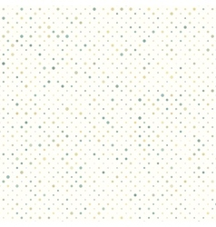 Colorful polka dot pattern EPS 8 vector image