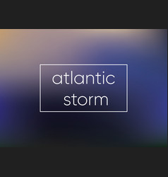 mesh blue atlantic storm smooth abstract colorful vector image vector image
