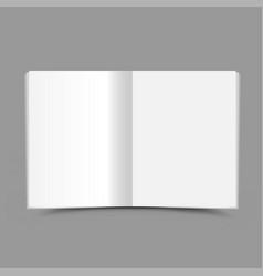 open school notebook gray background vector image