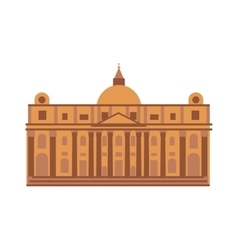Royal palace at madrid spain architecture building vector