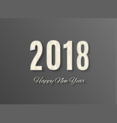 2018 happy new yearmerry christmas congratulate vector