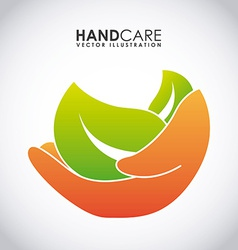 Hand care design vector
