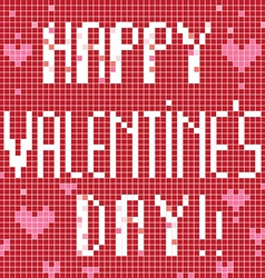 Happy Valentine's Day Card vector image