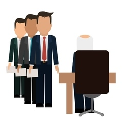 Hiring human resources related icons image vector