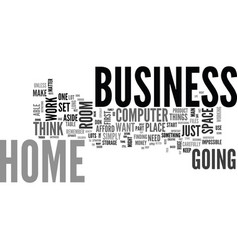 Where to run your online business text word cloud vector