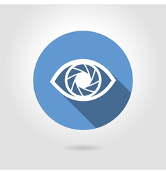 Icon eye vector