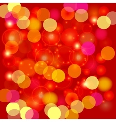 Colorful Blurred Light Background vector image