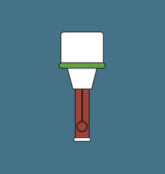 Flat icon design collection german hand grenade vector
